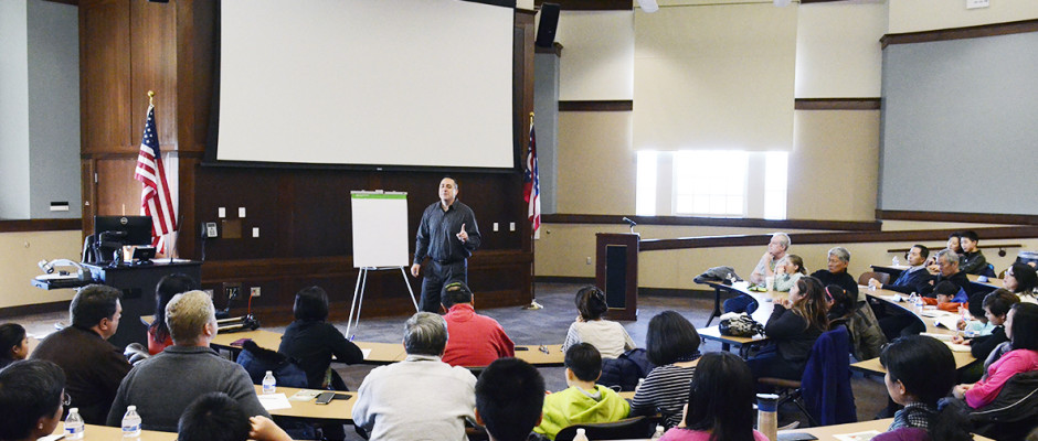 Asian Community Alliance presents Bully-Proofing Youth seminar by Jim Bisenius. Photo by Echo Lu